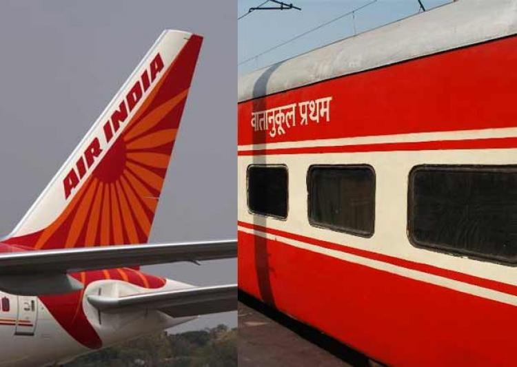 Rajdhani Waitlist Passengers to get Air India flight tickets