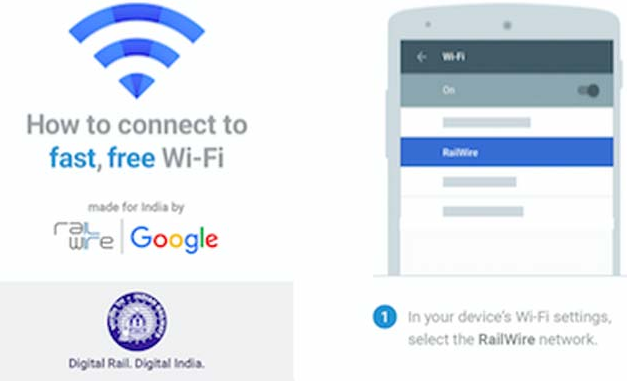 Activating Free Google RailWire Wi-Fi in Railway Stations