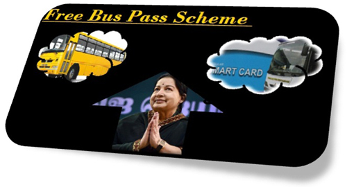 Free Bus Pass Scheme for school students in Tamil Nadu