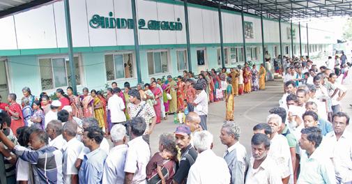 Jayalalithaa's Amma Unavagam in TN
