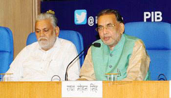 Union Agriculture & Farmers Welfare Minister Launched e-NAM Mobile App