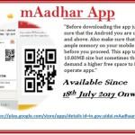 mAadhar App Download Install Uses
