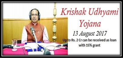 Krishak Udhyami Yojana MP
