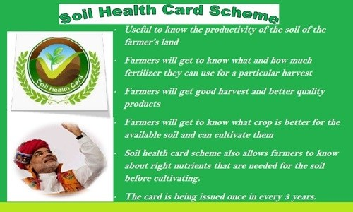 Soil Health Card Scheme Apply soilhealth.dac.gov.in SHC