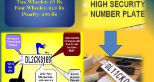 High Security Registration Number Plates in Delhi