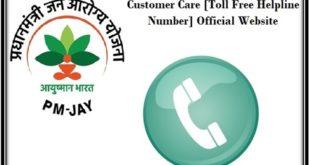 Toll Free Number Ayushman Bharat