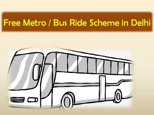 free bus ride scheme in delhi